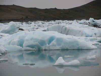 Icebergs in Glacier Lagoon