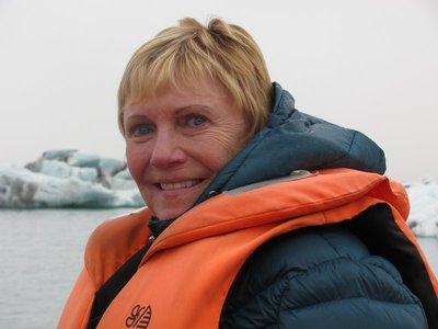 Boating around Glacier Lagoon