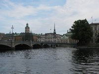 View of old Stockholm