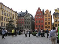 The Central Square in Old Stockholm