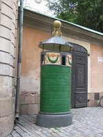 Public Urinal outside the Royal Palace.