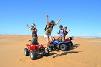 Quadbiking in Namibia