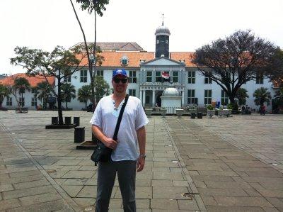 Outside the Jakarta History Museum, Old Batavia