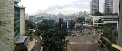 Jakarta skyline from Grand Indonesia Plaza