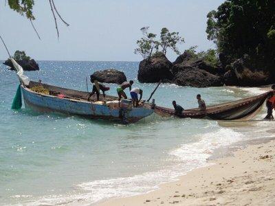 Zanzibarian fishermen