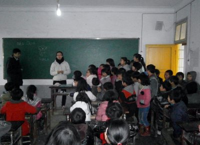 Teaching students