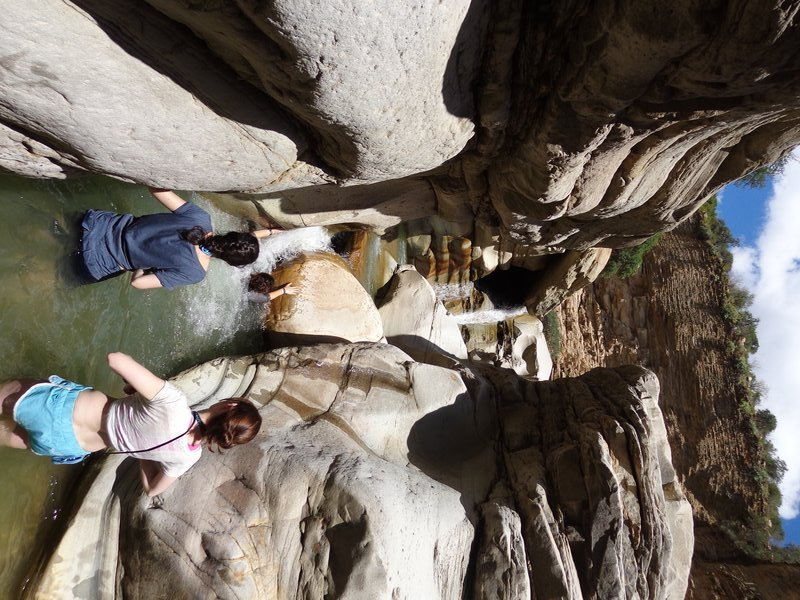 Clambering in the Canyon