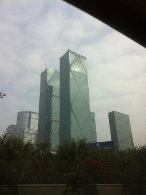 high rises of Shenzhen