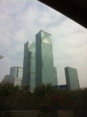 high rises of Shenzhen