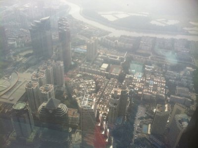 View of Shenzhen from Kingkey 100