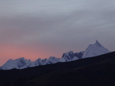 dawn Huaraz