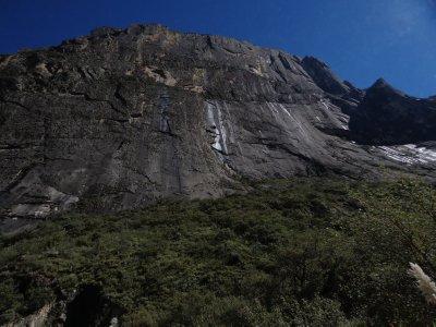 steep cliffs