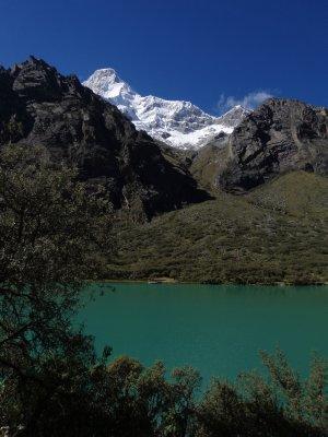 Llanganuco Chinancocha and Huascaran