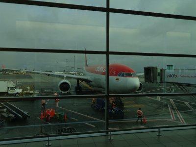 plane to Bogota