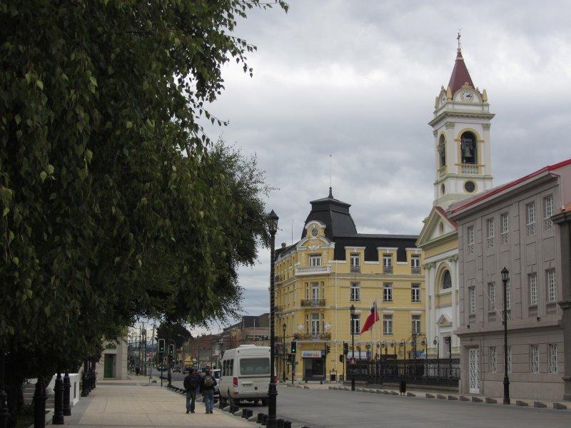Main square Punta Arenas
