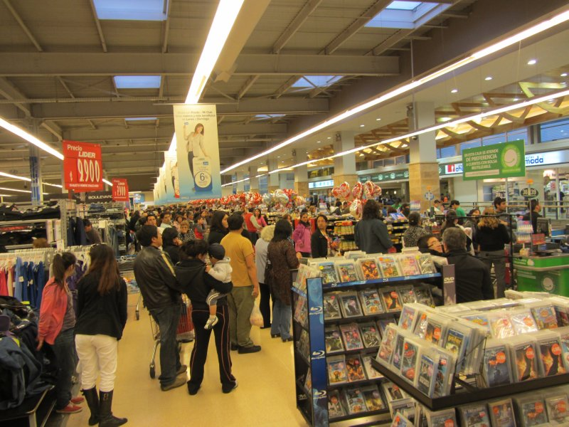 Typical Lines in a supermarket
