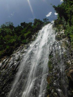 Waterfall near Mt. Kili