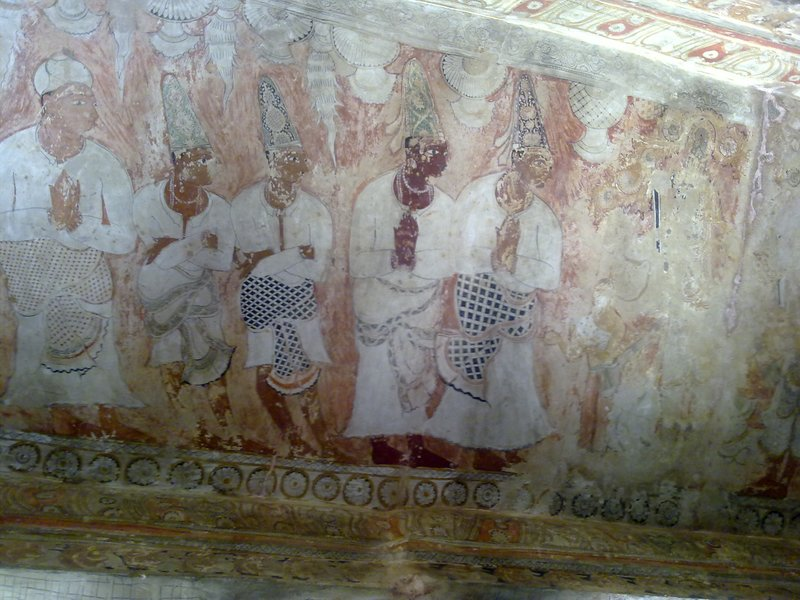 Lepakshi Temple Painting