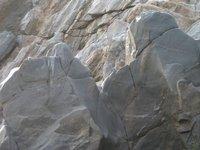 Beautiful rocks of Damodar river, india