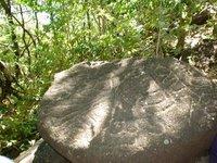 Conchaguita island indian rocks