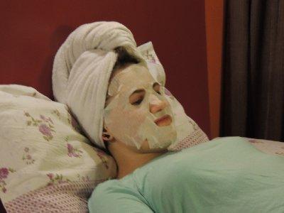 Job tiring mask