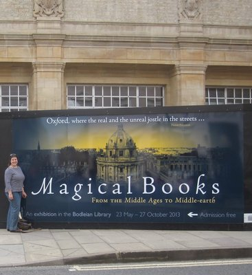 The Magical Books exhibit at Bodleian Library