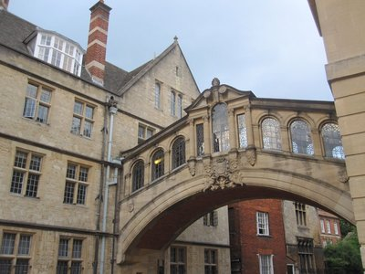 The Bridge of Sighs, see the ghost in the glass?