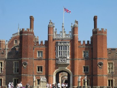 Hampton Court, pretty spiffy