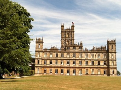 Highclere Castle, it really is that big