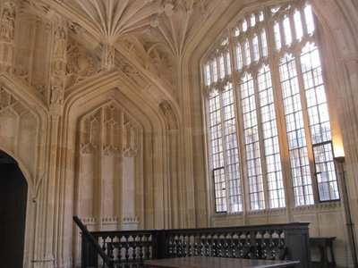 Bodleian Library, hospital in Harry Potter