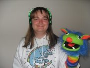 ME WITH PUPPET