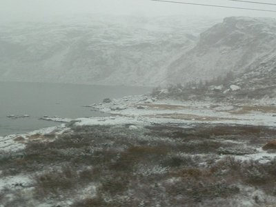 The end of Strandavatnet Lake