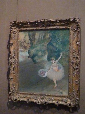 Dancer Taking a Bow (The Prima Ballerina) by Edgar Degas (1878)