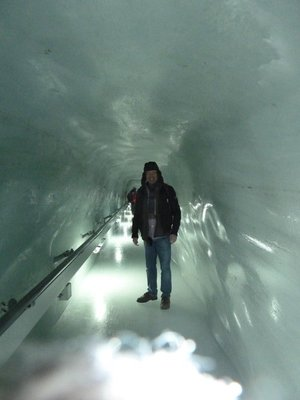 Me inside an Ice Tunnel