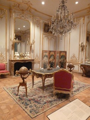 French French Antique Furniture on display at the Getty Center