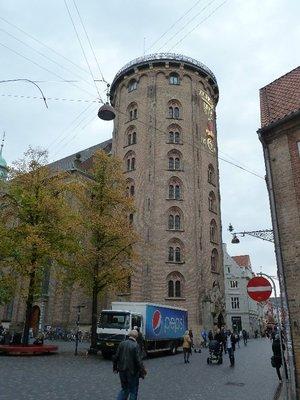 Copenhagen's famous Rundetarn (Round Tower)