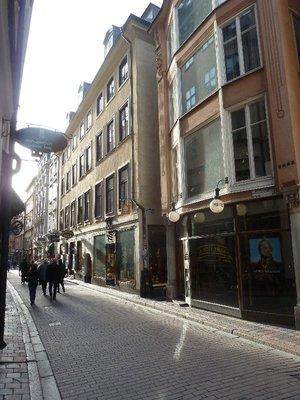My Hotel on Vasterlanggatan in Stockholm's old town (Gamla Stan)