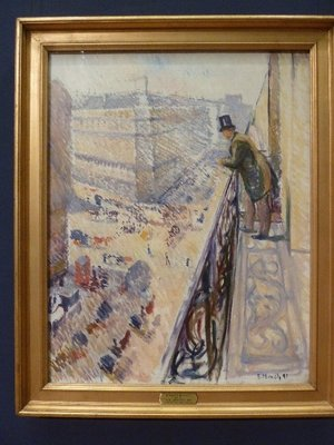 I liked some of Munch's other work, here's 'Rue Lafayette' (1891)
