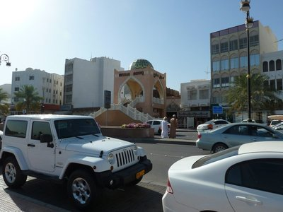 The entrance to Mutrah Souq on the Corniche