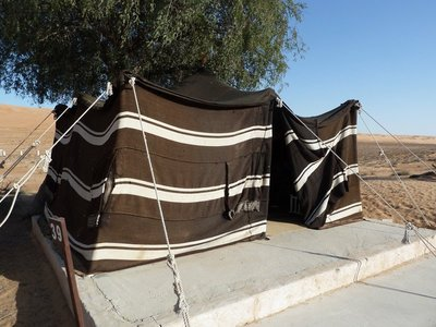 My Sheik Tent in the Desert