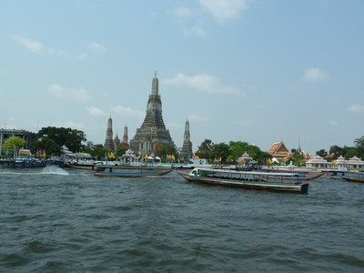 Wat Arun from the River Phraya
