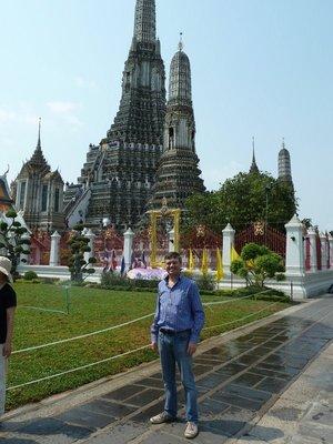 Me outside Wat Arun