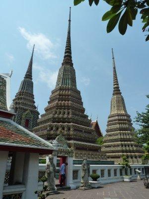 The large Chedi at Wat Pho