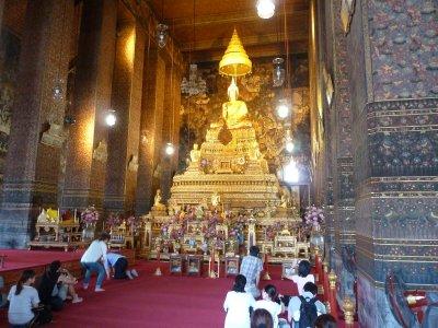 Buddha in the Main Hall at Wat Pho