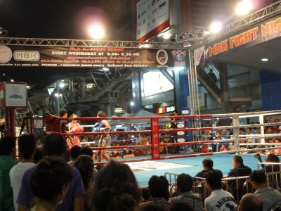 The final Thai Boxing bout of the night was Female