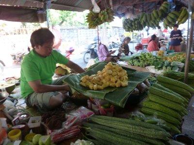 Jack Fruit being prepared at Nakhorn Na Yok Market