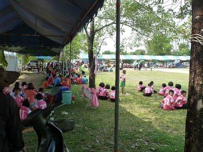 Sports Day at a local Thai Village School