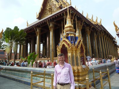 Me by the Temple to the Emerald Buddha
