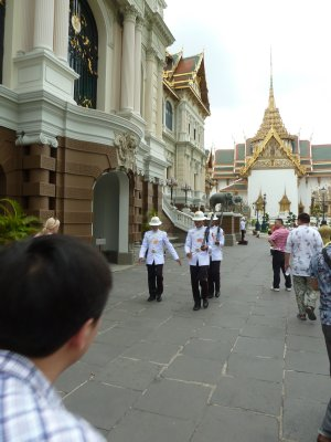 Changing the Guard outside the Grand Palace