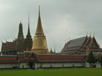 Wat Phra Kaew viewed from the outside